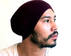 mens slouchy beanie black | Mens Beanie slouch Hat, Fathers day , Men Clothes ,unisex- Burgundy ...