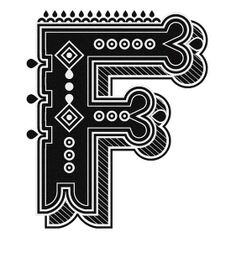 Typography :: Letter F - by Jonny Wan