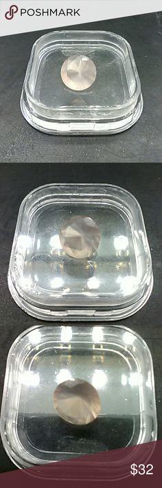 2ctw Genuine Rose Quartz Round Gemstone Beautiful genuine 2 carat genuine Rose Quartz loose gemstone. estate 925 Jewelry