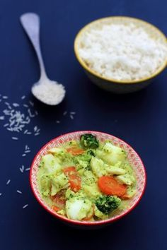 Curry de cabillaud, brocoli et carotte à l'indienne (5SP WW)