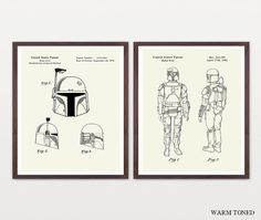 Boba Fett Poster - Star Wars Art - Star Wars Patent - Star Wars Poster  Boba Fett - Boba Fett Patent - Boba Fett Wall Art - Boba Fett Helmet by WunderKammerEditions on Etsy https://www.etsy.com/listing/251953673/boba-fett-poster-star-wars-art-star-wars