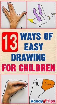 drawings to have fun with kids! Easy drawings to have fun with kids!Easy drawings to have fun with kids! Easy Art For Kids, Crafts For Kids, Gin Und Tonic, Drawing For Kids, Drawing Ideas, Drawing Art, Kids Corner, Simple Art, Learn To Draw