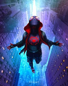 56 Trendy Wall Paper Marvel Iphone The Avengers Marvel Comics, Marvel Fan, Marvel Heroes, Amazing Spiderman, Spiderman Spider, Photographie Street Art, Miles Morales Spiderman, Miles Spiderman, Avengers Wallpaper