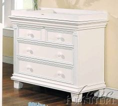 """Baby Changing Table White Finish by Acme Furniture. $535.20. Some assembly may be required. Please see product details.. Baby Furniture. Baby Changing Table White Finish. Baby Furniture->Changing Tables. Dimension: 41""""W x 20""""D x 35""""H Finish: White Material: Wood Baby Changing Table White Finish Item features ample storage below for your baby care essentials. This table provides an ideal changing area to ensure your baby is completely comfortable during changes..."""