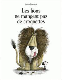 """""""Les lions ne mangent pas de croquettes"""" est un ouvrage surprenant, drôle, et intelligent, aux illustrations vraiment soignées et suggestives...."""