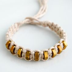Hexnut Shamballa BraceletFree Diy Jewelry Projects | Learn how to make jewelry - beads.us