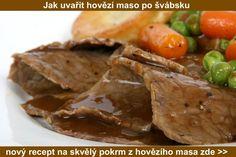(35) Doručené – Seznam Email Crock Pot Recipes, Pot Roast Recipes, Lamb Recipes, Crock Pot Cooking, Crockpot Meals, Beef Pot Roast, Beef Gravy, Braised Beef, Leftover Pot Roast