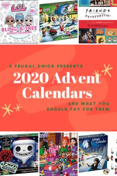 """The """"Christmas"""" Calendar (AKA the Advent Calendar) and What You Should Pay For Them- Check out the Advent calendars for 2020 and what bargains are available Lego City Advent Calendar, Harry Potter Advent Calendar, Advent Calendars, Friends Tv Show, Lego Friends, Holiday Armadillo, Harry Potter Games, Christmas Calendar, Money Saving Meals"""