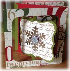 My two favourite things right now... of course Penny Black stamps and Sizzix Dies. This is one of the new Karen Burniston dies her accordio...