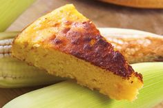 Pancito de elote | Costa Rica's version of cornbread.  Pinned by www.4tulemar.com
