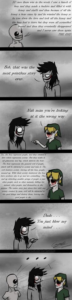 The Most Pointless Story Ever by GingaAkam on deviantART