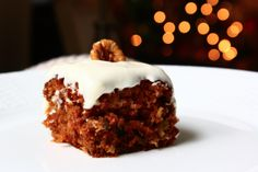 The BEST Carrot Cake Recipe Ever (secret is cooking the carrots first) #christmas