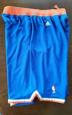 New Mens NBA NY Knicks Royal Blue adidas swingman shorts Large Closeout  Prices 484a5cfc2