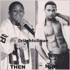 Milk does the body good ... #tbt #LilRomeo #RomeoMiller #ThenAndNow