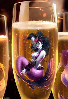 Champagne Widowmaker by Zarory.deviantart.com on @DeviantArt - More at https://pinterest.com/supergirlsart #overwatch #fanart