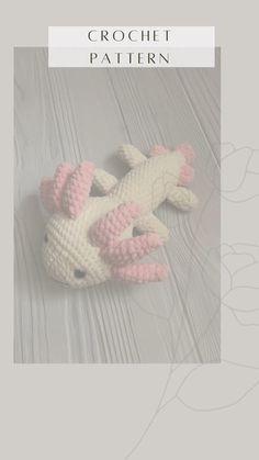 Crochet Toys Patterns, Pdf Patterns, Amigurumi Patterns, Amigurumi Toys, Learn To Crochet, Easy Crochet, Crochet Ideas, Softie Pattern, Stuffed Animal Patterns