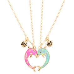 Shop the hottest styles and trends from cool jewellery & hair accessories to gifts & school supplies. Bff Necklaces, Best Friend Necklaces, Best Friend Jewelry, Best Friend Outfits, Best Friend Gifts, Gifts For Friends, Girls Jewelry, Cute Jewelry, Diy Gifts To Sell