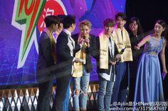 160328 The 23rd East Billboard Music Awards in Shanghai #Minho #Taemin #Shinee