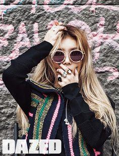 Yubin Wonder Girls Dazed & Confused January 2016