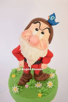 Grumpy #1: Grumpy seven dwarfs - CakesDecor