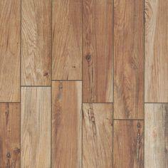 Tahoe Ocre Wood Plank Porcelain Tile - 6 x 24 - 100064096