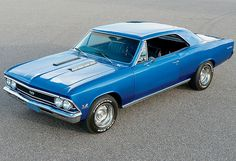 """Steve Ferrante's """"1966 Chevy Chevelle SS"""" car my dad had that I loved!!!"""