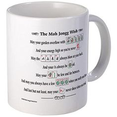 CafePress Mug - Mah Jongg Wish Coffee Mug - S White CafePress http://www.amazon.com/dp/B00V20UDU4/ref=cm_sw_r_pi_dp_W4jawb18ZZ07H