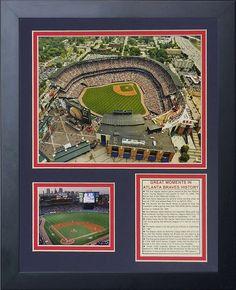 "Legends Never Die ""Atlanta Braves Turner Field"" Framed Photo Collage, 11 x 14-Inch, Price: $32.50 - You Save: $17.49 (35%)"