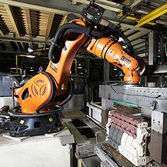 KUKA Industrial Robots - Extreme loads in extreme settings