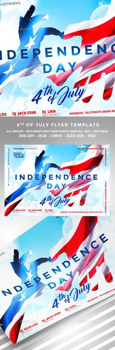 Independence Day Flyer #america #american #americanflag #celebration #fourthofjuly #honor #independence #independenceflyer #july4th #liberty #memorialday #unitedstates #usa #VeteransDay