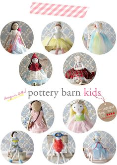 Designer Dolls by PBK.  which is your favorite?