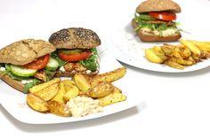 Gesunder Burger- Abend   Fit Trio Food & Fitness Blog aus Hamburg