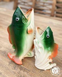 "Fischvase ""Anayo"" Keramik Vase, Pets, Animals, Starfish, Objects, Pisces, Summer, Animales, Animaux"