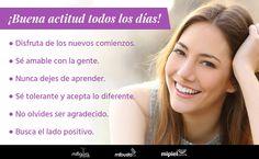 ¡Libérate del estrés. Comienza con regalar sonrisas todos los días. #Belleza #Autoestima #LifeStyle