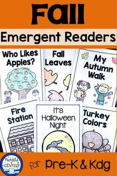Emergent Readers for Fall