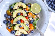Healthy quinoa lunch bowl full of goodness