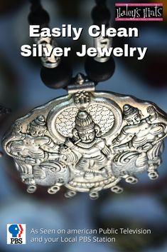 Easily Clean Silver Jewelry. Polishing silver is a tough job, it doesn't have to be, we'll show you an easy method for making silver sparkle without scrubbing.