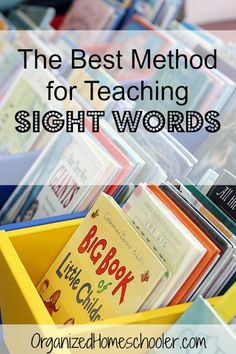 Memorizing sight words is an important language arts skill in preschool, kindergarten, and first grade. Master sight words in just 10 minutes a day! #sightwords #flashcards
