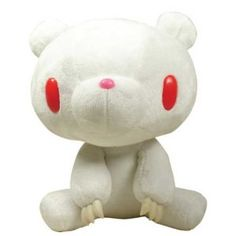Gloomy Bear Sits Down Prime Albino Plush (White)