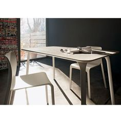 Magis Table First, Rectangular Masters Chair, Contemporary Dining Table, Office Decor, Modern Furniture, Decor Ideas, Home Decor, Decoration Home, Room Decor, Modern Dining Table
