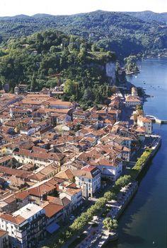 Arona, Lake Maggiore, Italy., Brescia Lombardy