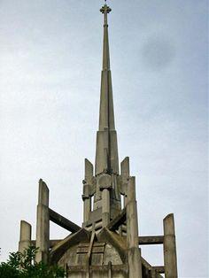 Église Sainte-Thérèse-de-l'Enfant-Jésus d'Élisabethville. Ile-de-France