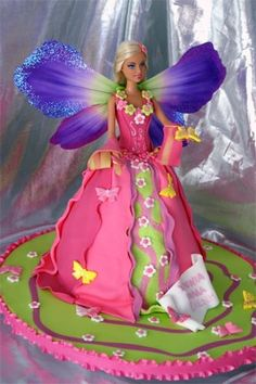 Butterfly Cakes The Cutest Collection Of Ideas Barbie Birthday - Birthday cake doll designs