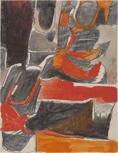 Richard Diebenkorn, Untitled (circa 1950–53). Photo: courtesy Van Doren Waxter.