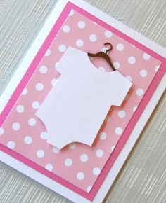 Baby Card for Baby Shower  New Baby Card  by keylimecards on Etsy, $4.99