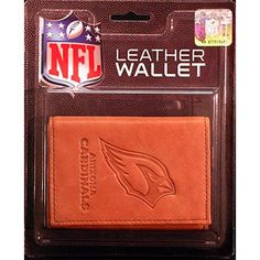 Arizona Cardinals NFL Manmade Leather Tri-Fold