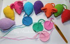 crochet mouse ༺✿ƬⱤღ✿༻