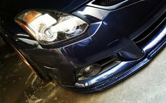 2012 Nissan Altima Coupe 3.5SR 6 Speed  Color: Navy Blue Metallic  Stock Horsepower:  (Net @ RPM): 270 @ 6000  Intake: K&N Cold Air Intake  Exhaust - Magnaflow Performance Rear Section Full Custom with 3 inch pipes and secondary cat-delete   Grille - C-mod  Front Lip Spoiler - Stillen   Wheels: Weds Kranze LXZ 19x10 -2 offset with 4.5 inch Lip  Tires: 235/35 Hankook Ventus V12 Evo2  Suspension: Accuair Air Ride and hand built  KSport Air Struts  Fenders: Full Custom cut and welded