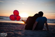 Pink Polka Dot Balloon Gender Reveal (Memory Montage Photography)