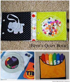 Quiet Book Patterns & Ideas